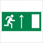 Направление к эвакуационному выходу прямо (правосторонний)